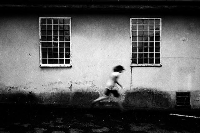 Running Boy (Contax G1)