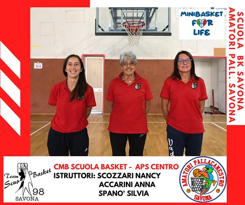 STAFF CMB Scuola Basket - APS CENTRO