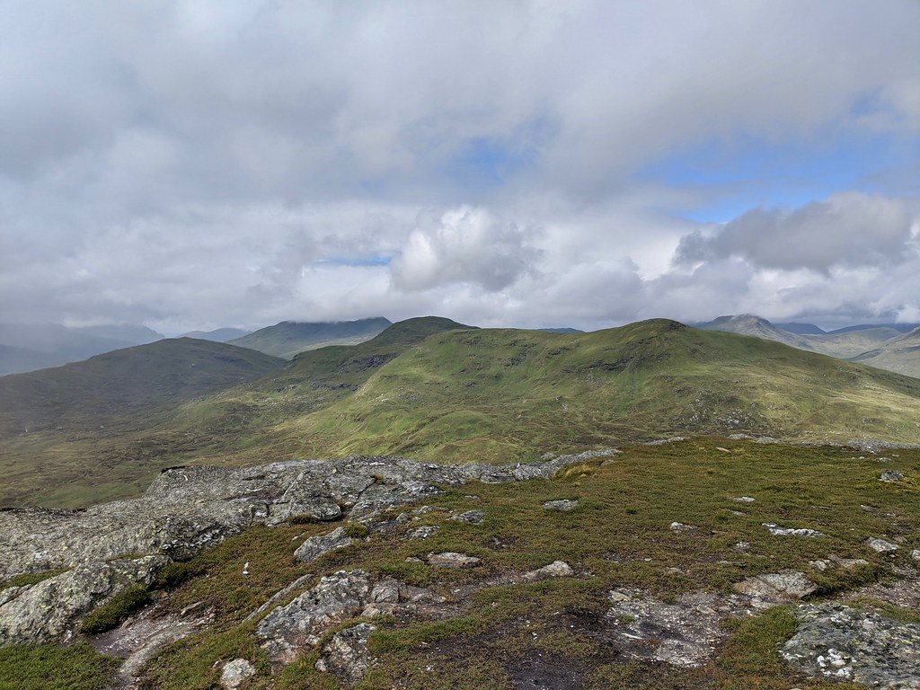 Meall Glas from Sgiath Chuil