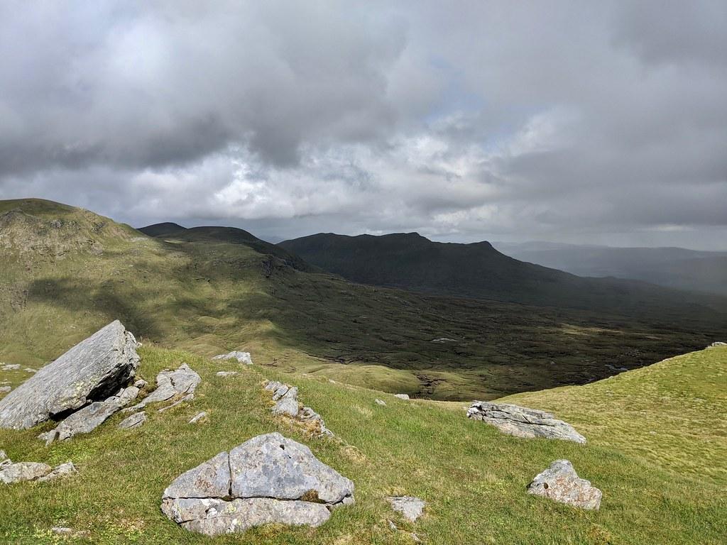 Sgiath Chuil from Beinn nan Imirean