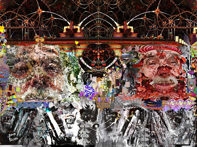 Nuttin Hardly Visible VisionS IN Dimensionality or Cloud dELUSION 34% (Ego wit Abstraction)