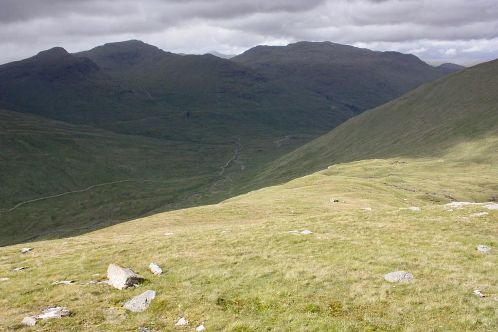 Glen Lochay from Beinn nan Imirean