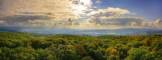 Eichbergturm Panorama