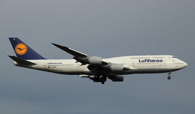 Lufthansa, D-ABYK, MSN 37835, Boeing 747-830, 02.10.2020, FRA-EDDF, Frankfurt