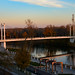 Bridge over River Ural in Orenburg / Мост через реку Урал в Оренбурге