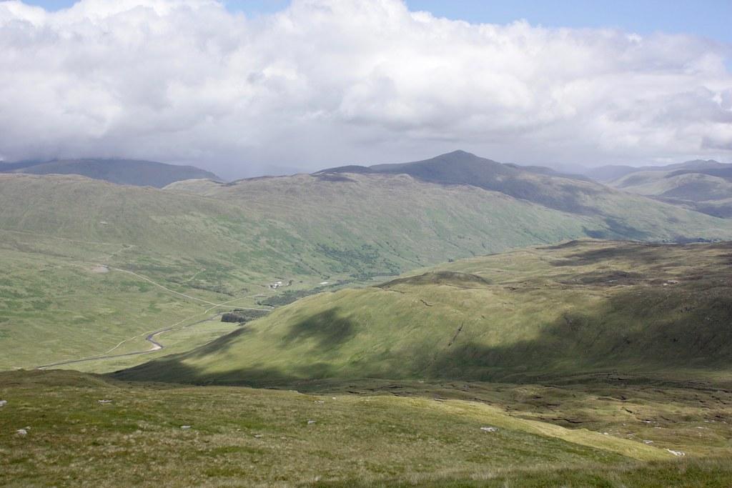 Towards Meall Geordaidh