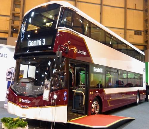 SJ66 LOA 'Lothian Buses' No. 441. Volvo B5TL / Wright Gemini 3 on Dennis Basford's railsroadsrunways.blogspot.co.uk'
