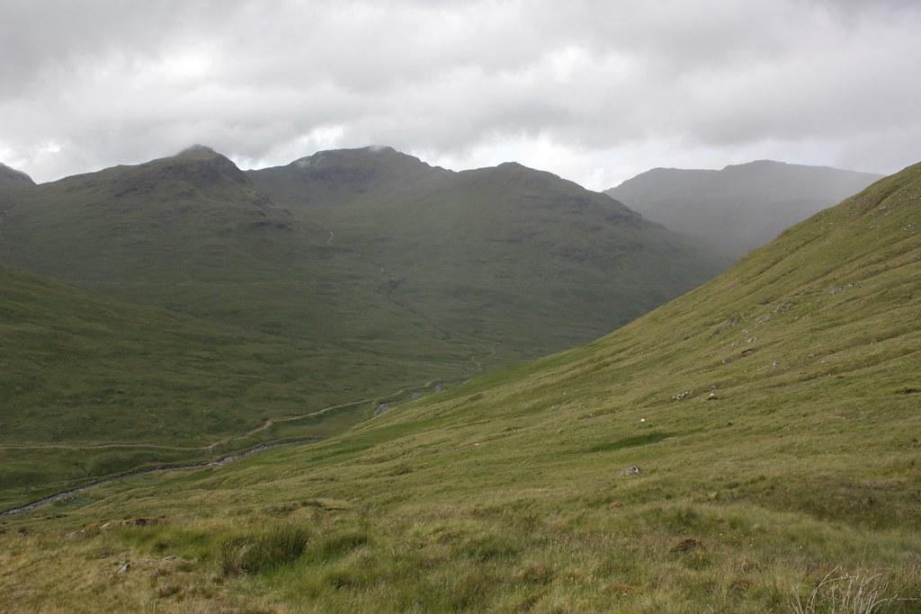 Descent into Glen Lochay