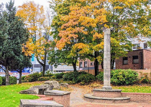 Autumn in the Peace Gardens at Preston | by Tony Worrall