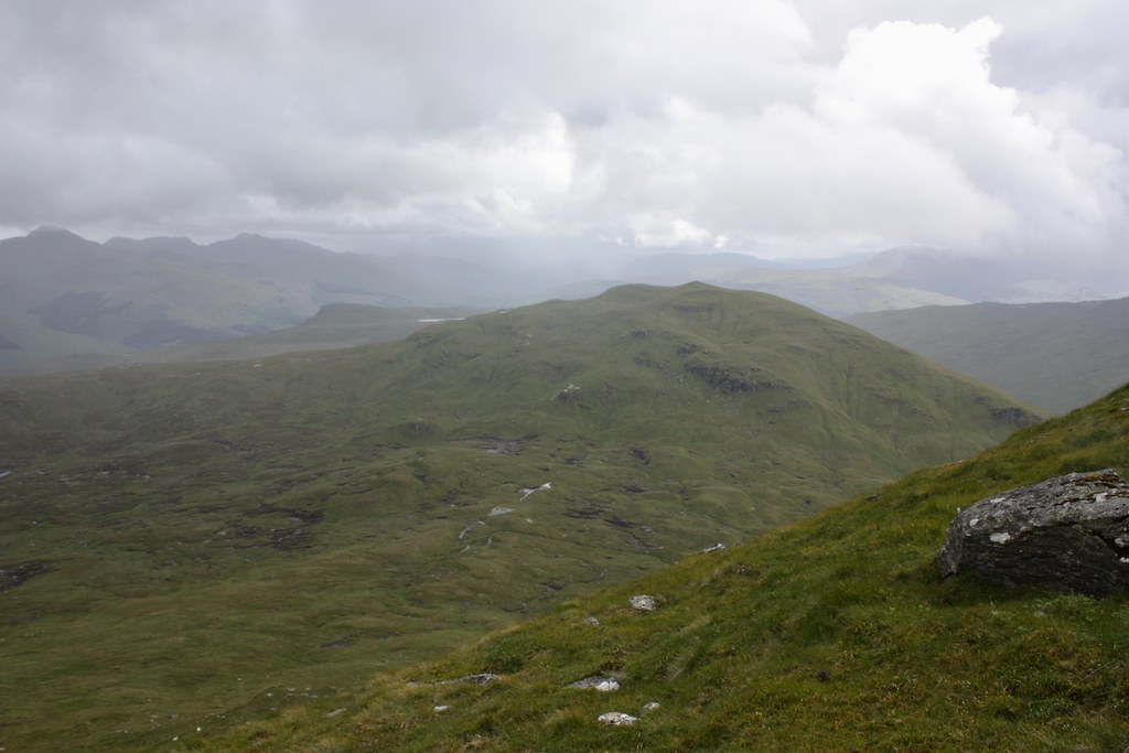 Beinn nan Imirean from Meall Glas