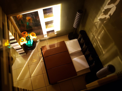Greyplate House MOC. Bedroom in sunlight II.
