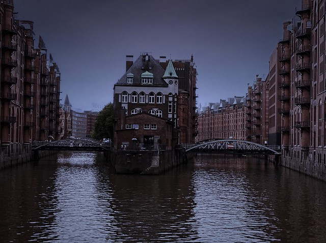 """The moated castle of Hamburg! ☆ """"Thanks for the Flickr explore"""