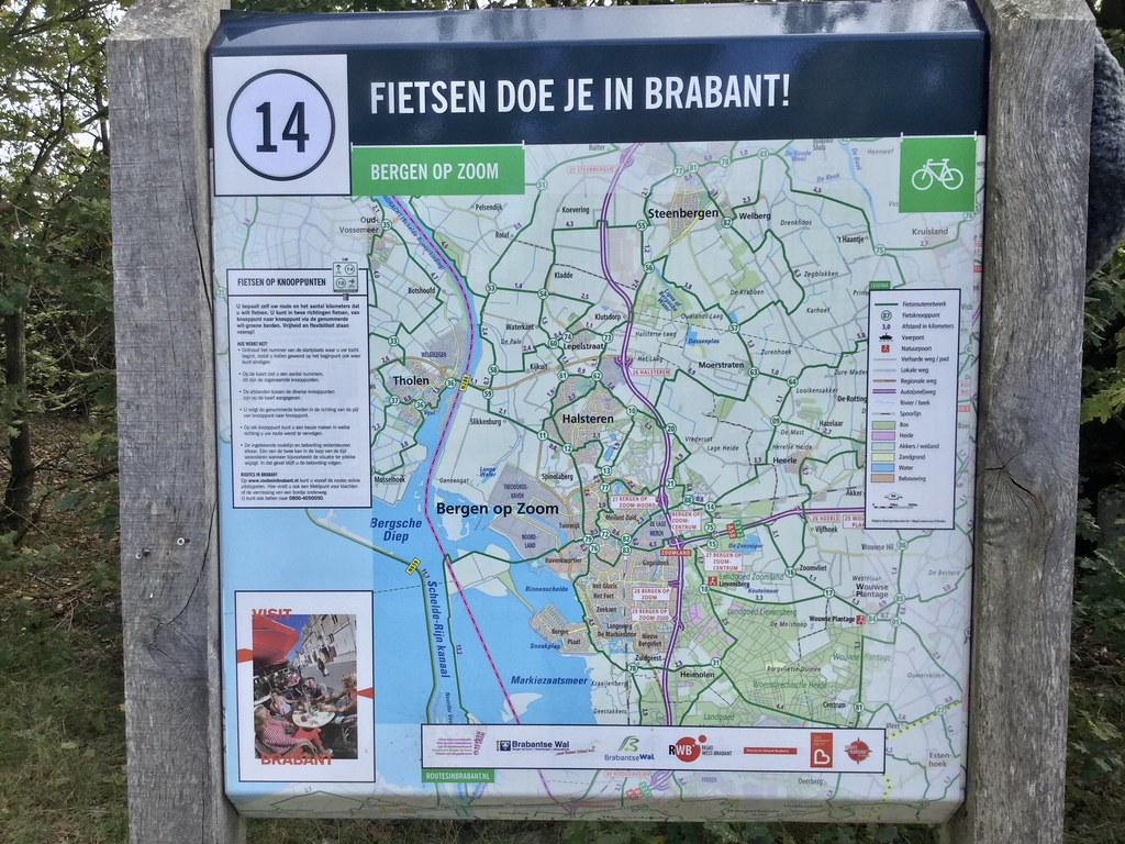 LF, Lange afstand Fiets routes