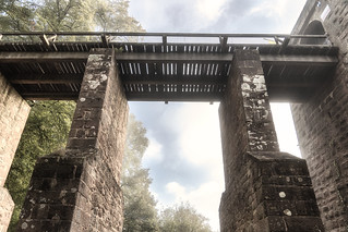Misty Castle Bridge