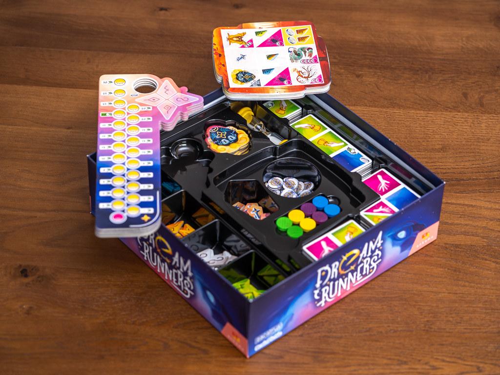 Dream runners boardgame juego de mesa