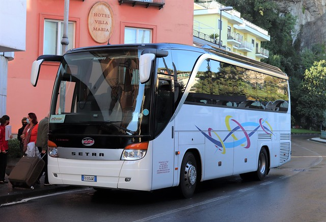 FX034WE Setra S411HD - De Martino S e Figli, Sorrento, Italy