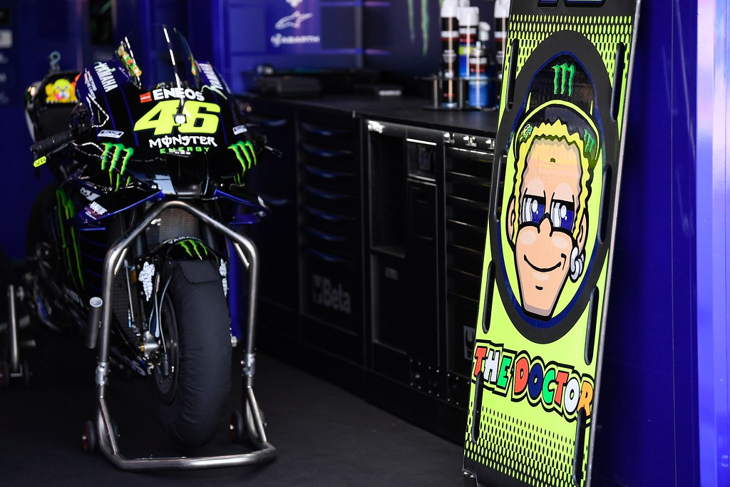 Rossi Absen For Covid