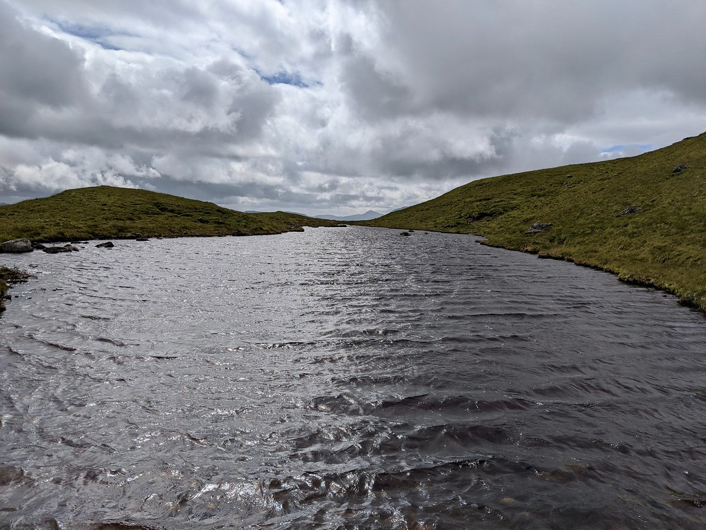 Lochan on Beinn nan Imirean