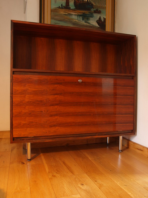 Gordon Russell GR 70's drinks cabinet/bookcase.