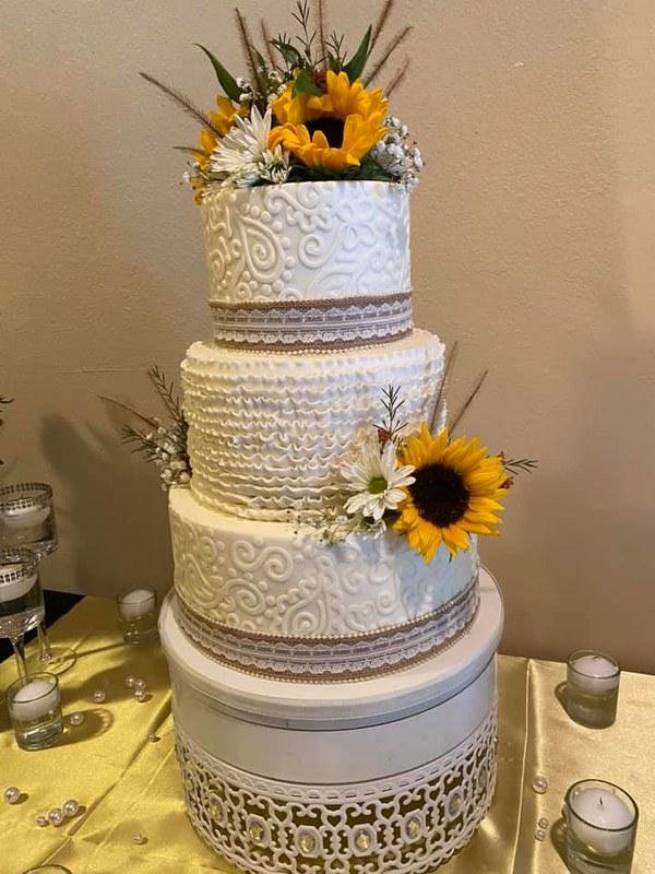 Cake by Barnyard Bakery