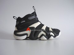 1997 VINTAGE ADIDAS KOBE BRYANT EQUIPMENT TORSION KB 8 MID FEET YOU WEAR BB SPORT SHOES / HI TOPS