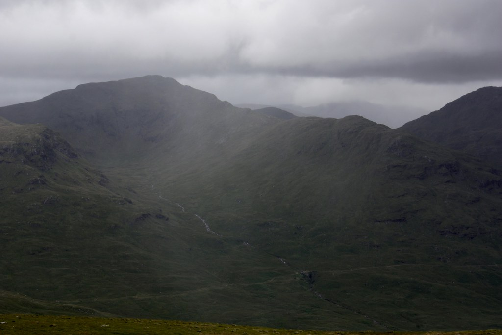 Showers over Creag Mhor