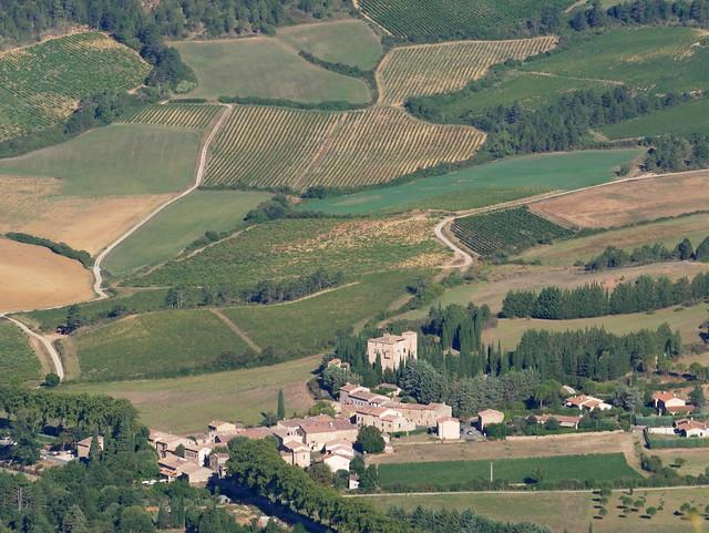 Serres & vineyards from La Berco Grando