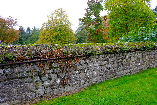 Churchyard Wall Sundridge Kent