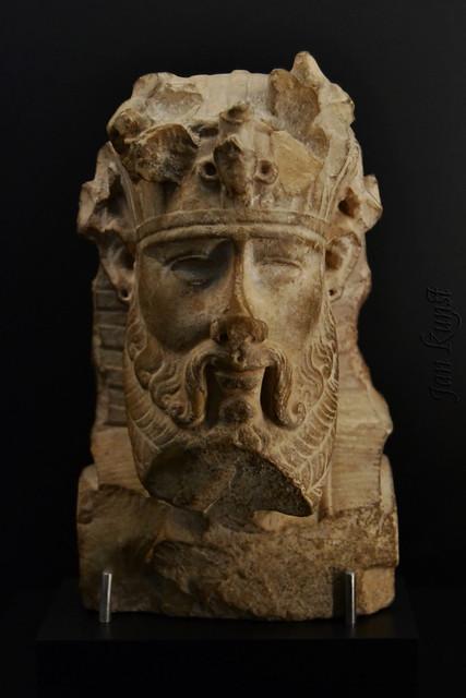 An Unusual Royal or Divine Head