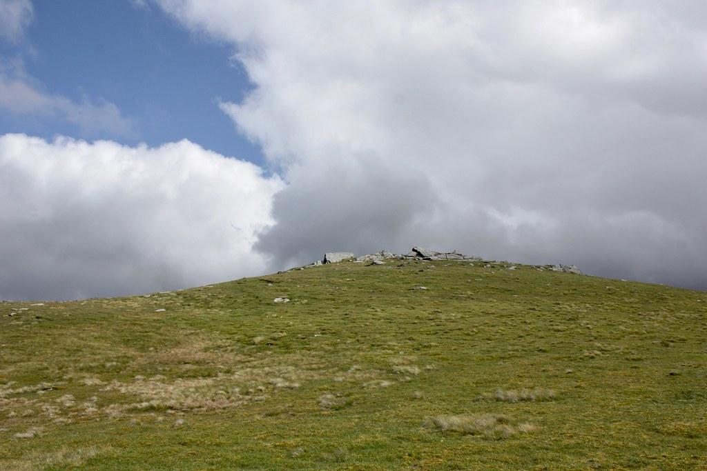 Summit of Beinn nan Imirean