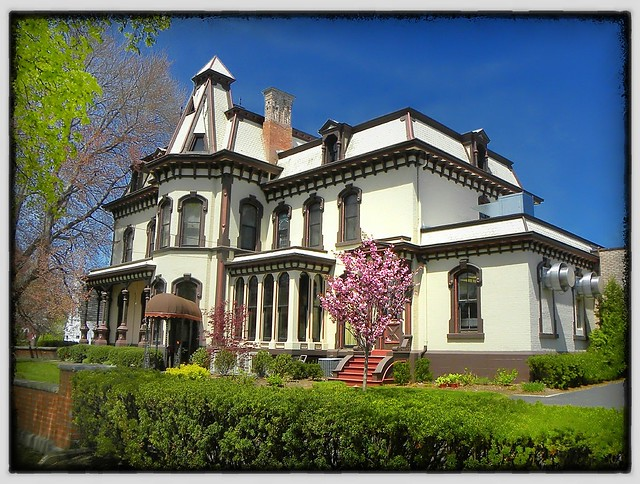 Fairport - New York - Home of Henry Addison DeLand - Historic