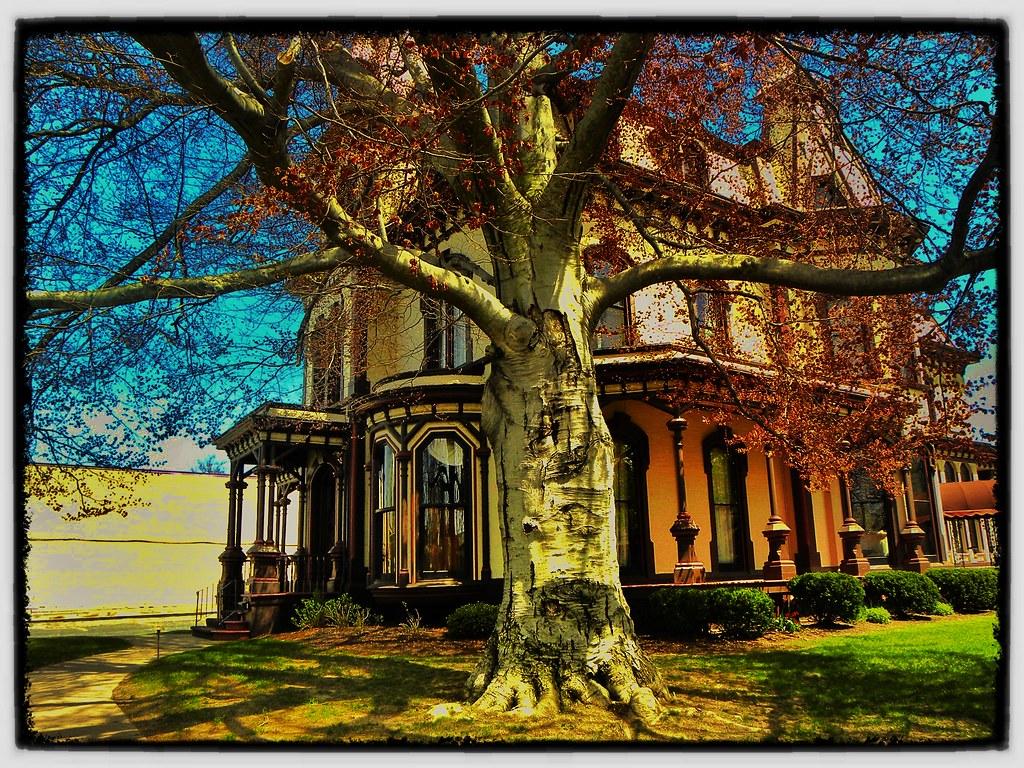 Fairport - New York - Home of Henry Addison DeLand - Historic