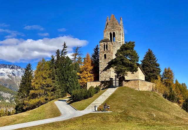 Church San Gian, Celerina