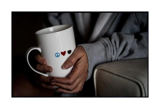 Peace, love and coffee