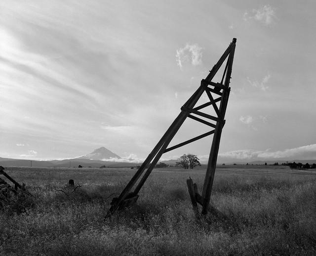 Windmill Remnant, near Dufur, Oregon