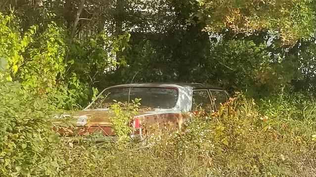 1965 Pontiac Tempest awaiting restoration