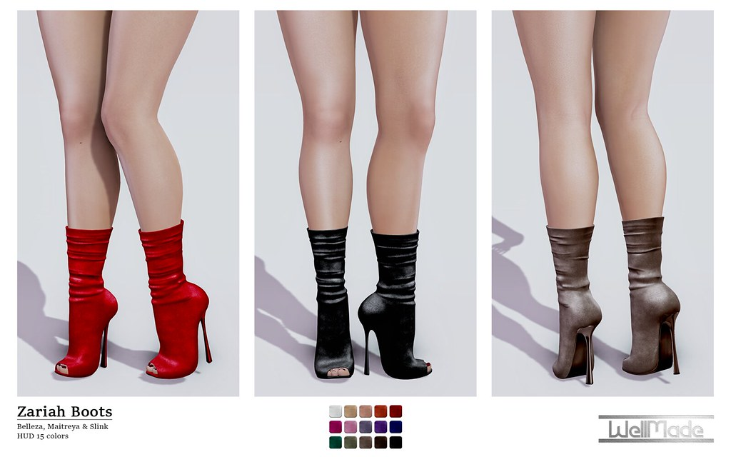 [WellMade] Zariah Boots – Exclusive for Girls Heaven -EVENT-