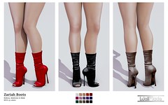 [WellMade] Zariah Boots - Exclusive for Girls Heaven -EVENT-