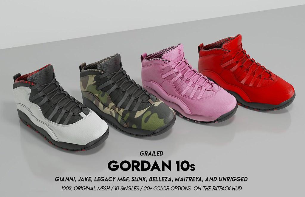 Unisex Gordan 10s