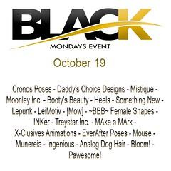 BlackMondays Sale event