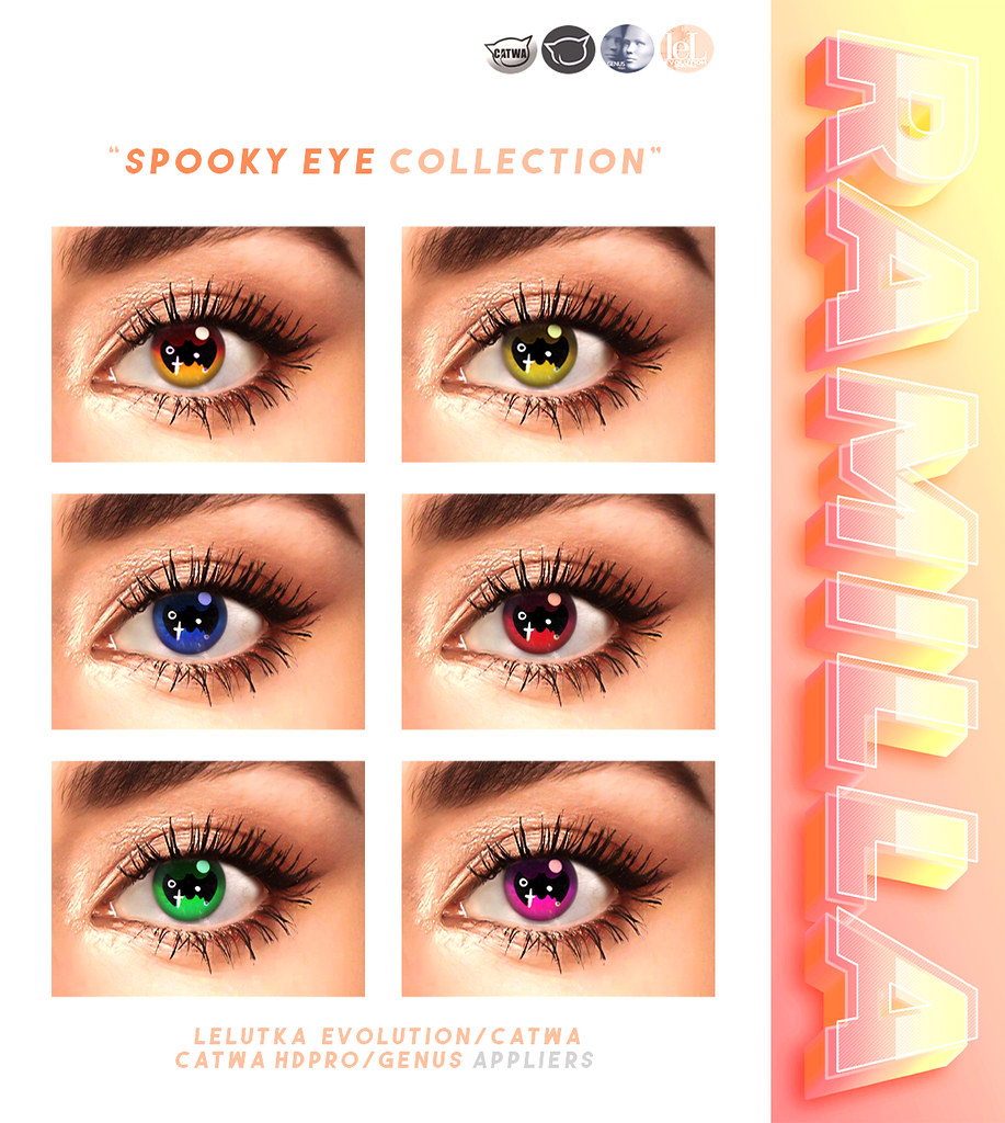 🎃Spooky Eyes Collection👀