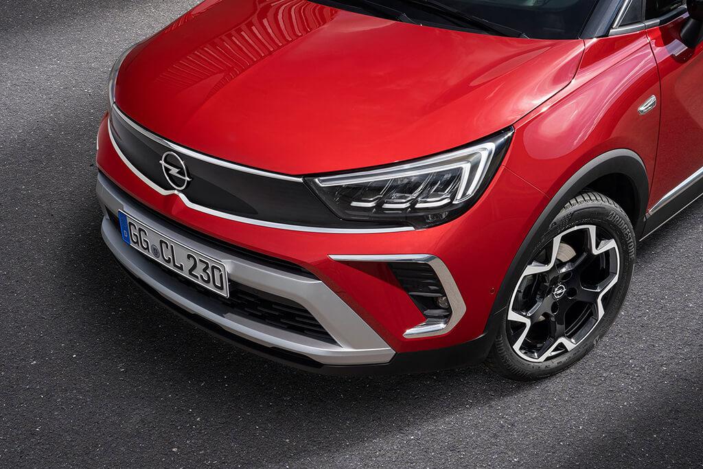 Обновлённый Opel Crossland будет предлагаться в России