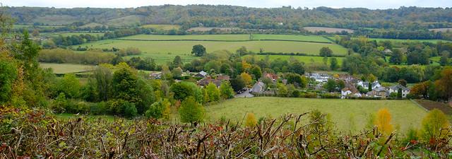 Shoreham from Meenfield Woods