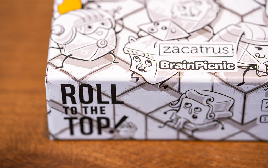 Roll to the Top! boardgame juego de mesa