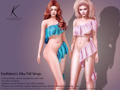 Kaithleen's Silky Frill Wrap Poster web