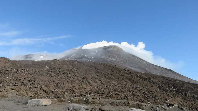 South-East crater of Mount Etna, Italy