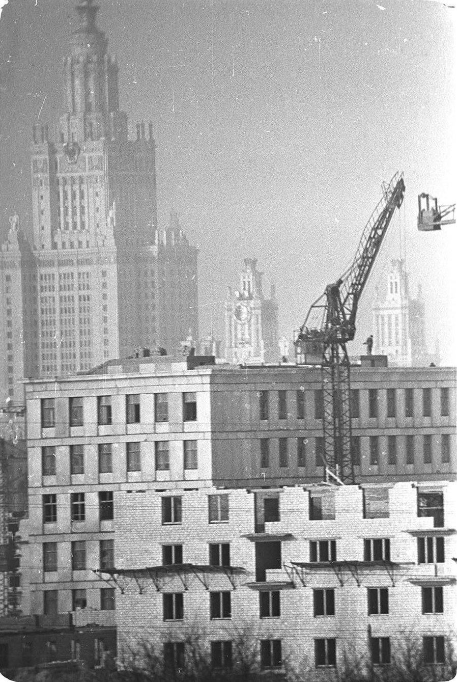 1950-е. Москва строится. Юго-запад