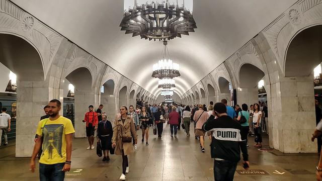 Moscow metro - Subte de Moscú