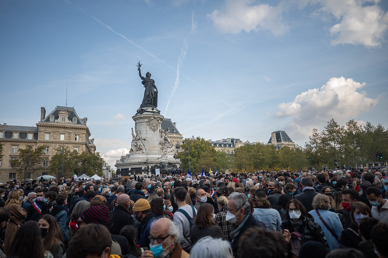 2020-10-18 - Rassemblement hommage Samuel Paty-6