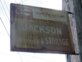 Jackson Moving & Storage Sign Thomasville GA